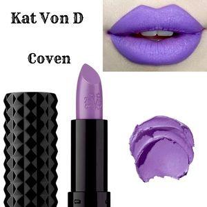 Kat Von D Coven Creme Lipstick NEW